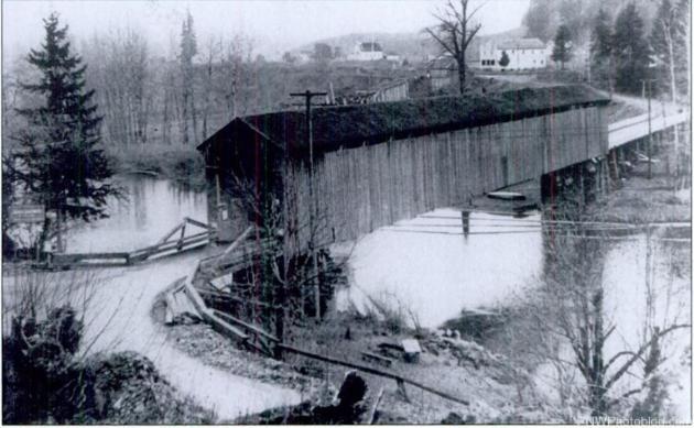 Baker's Ferry Covered Bridge