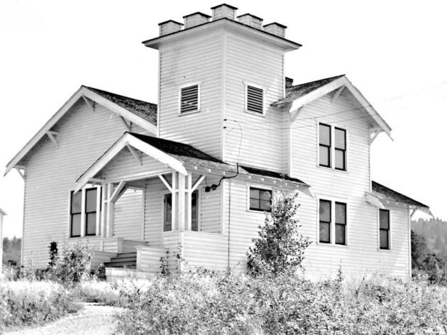 Evangelical church in Airlie, Polk County, Oregon, 1941