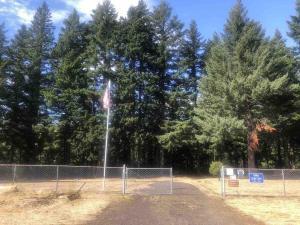 Iman Cemetery Entrance