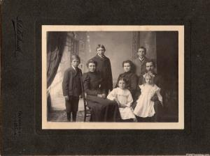 Mr. A. N. Morris and Family