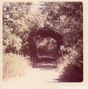 Lost Creek Covered Bridge - 1965