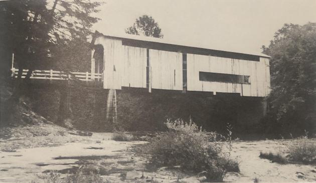 Wildcat Covered Bridge - Circa 1970s