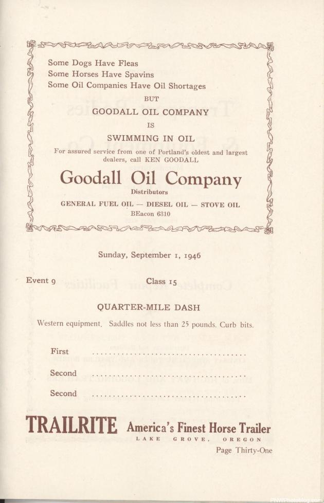 Goodall Oil Company