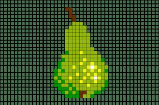 pear-pixel-art-pixel-art-pear-fruit-food-nutritious-healthy-pixel-8bit