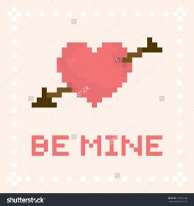 stock-vector-pixel-art-be-mine-valentine-s-day-vector-card-175092188