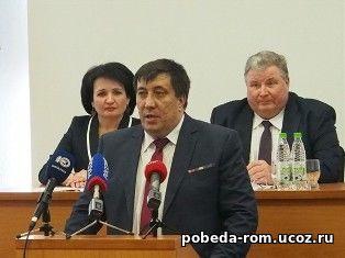 На должность Главы района избран С.В. Ведяшкин