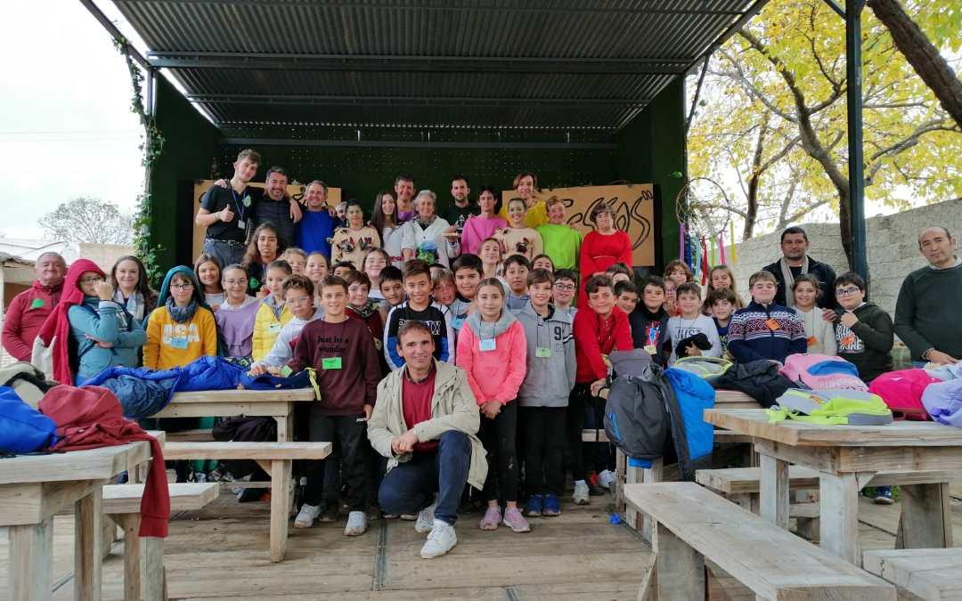 Visita de los alumnos y alumnas del CEPR Lope de Vega de Almonte – Huelva 27-11-19