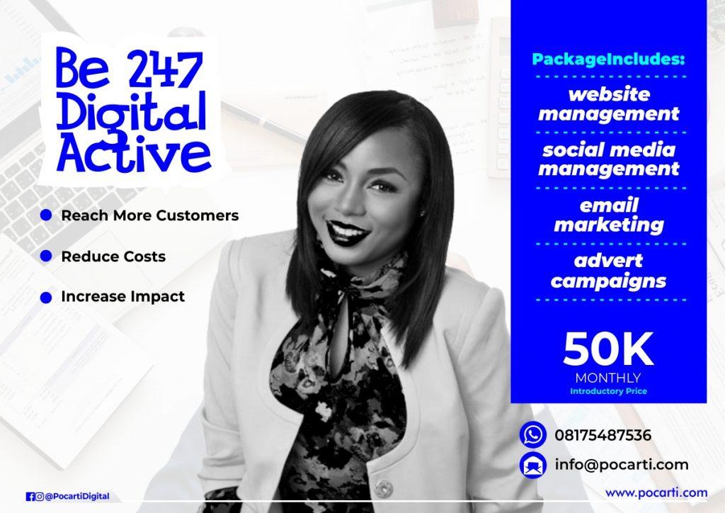 Pocarti Digital Active Plan