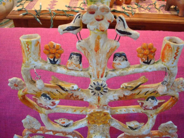 Mexican Vintage Folk-art And Pottery