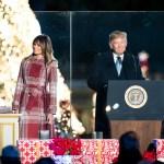 President and Flotus at Christmas Tree lighting