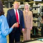 President Trump and Ivanka