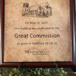 great commission plaque