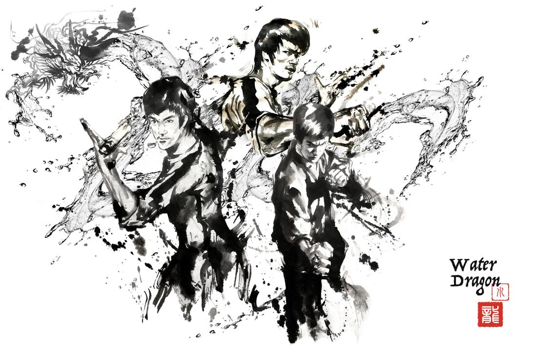 Bruce Lee by Anita Yan Wong