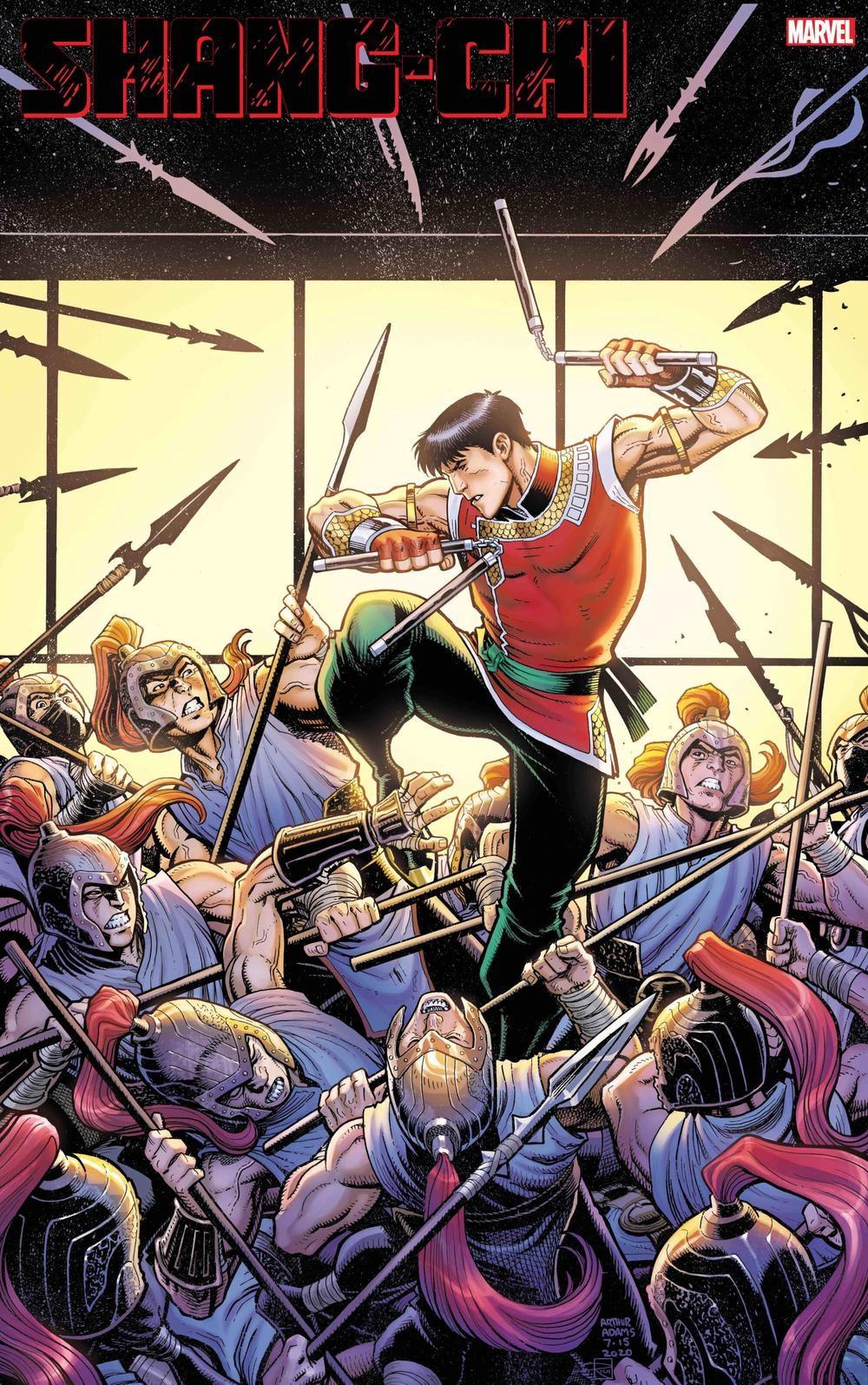 Shang Chi #1 Variant Cover by Arthur Adams