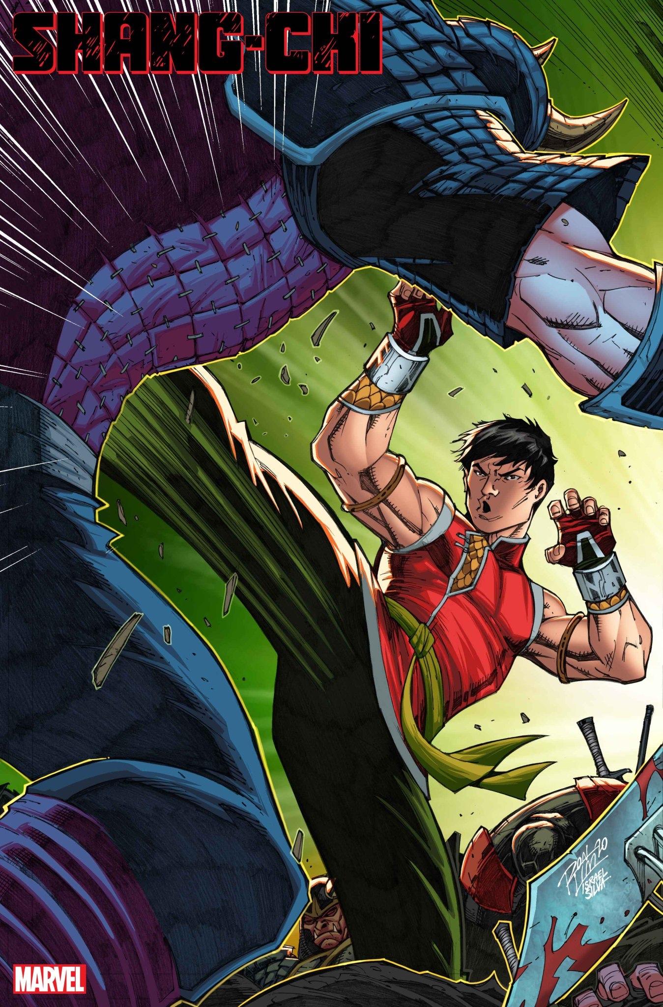 Shang-Chi #1 Ron Lim Variant Cover