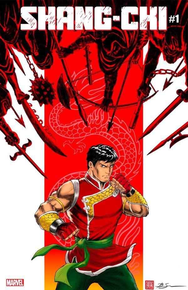 Shang-Chi #1 Benjamin Su Variant Cover