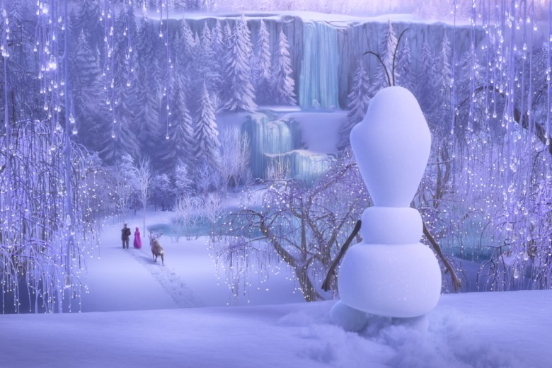Olaf from Once Upon a Snowman
