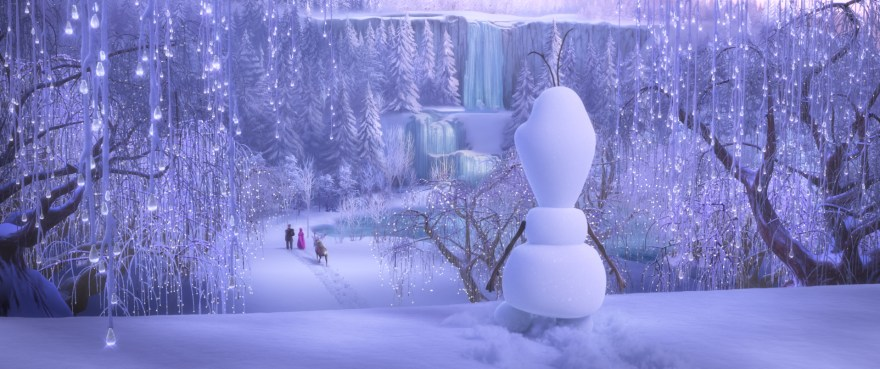 Still from Once Upon a Snowman