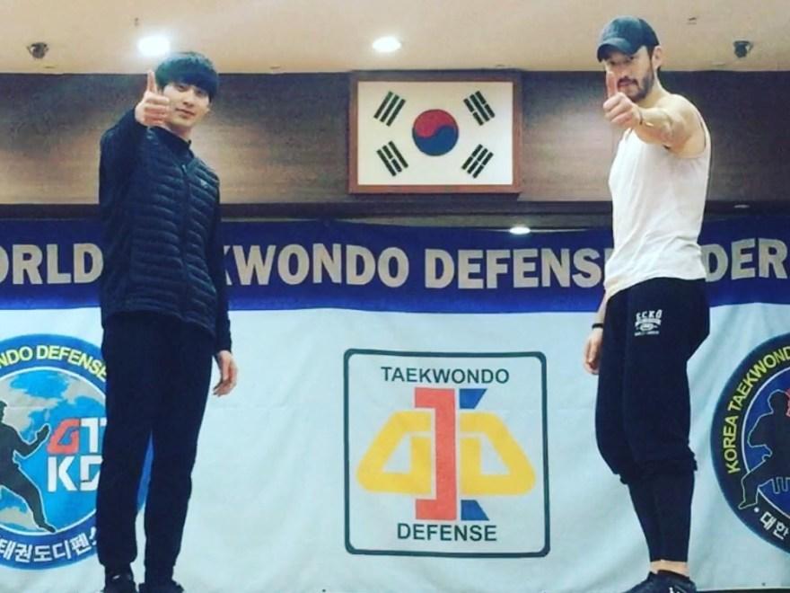 Andrew Koji Training in South Korea