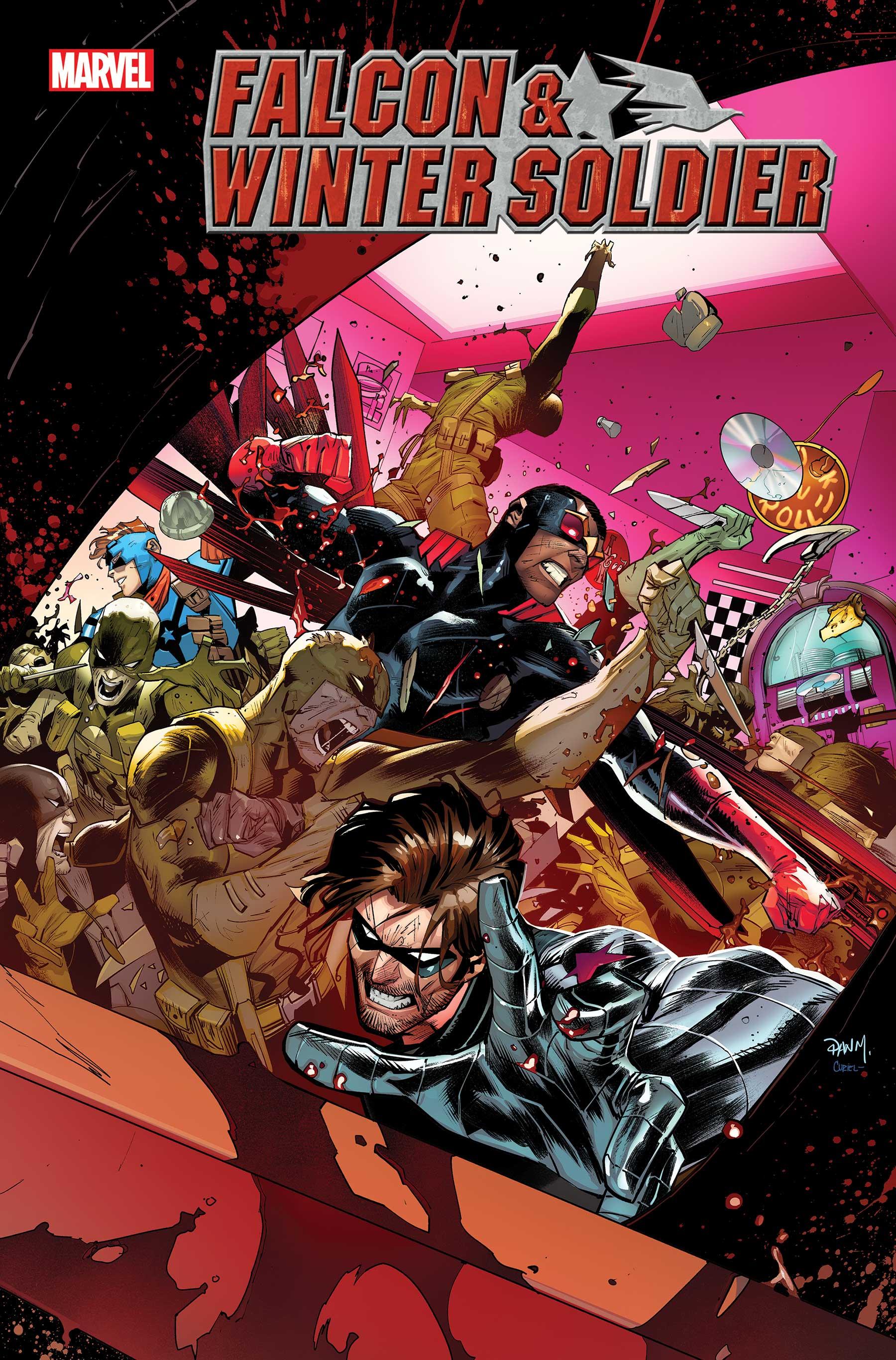 Falcon and Winter Soldier #5 Cover by Daniel Mora
