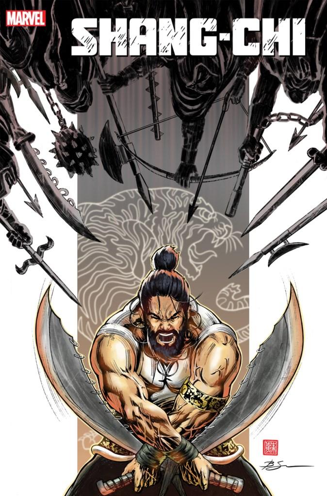 Shang-Chi #2 Second Printing Cover by Benjamin Su