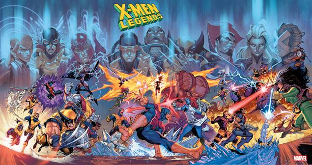 X-Men Legends Connecting Cover Art by Iban Coello