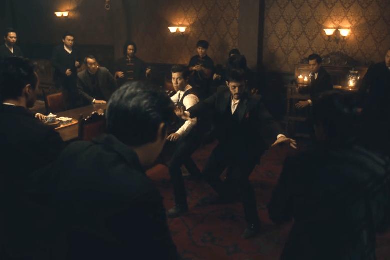Ah Sahm, Young Jun and Hong vs. the Hop Wei