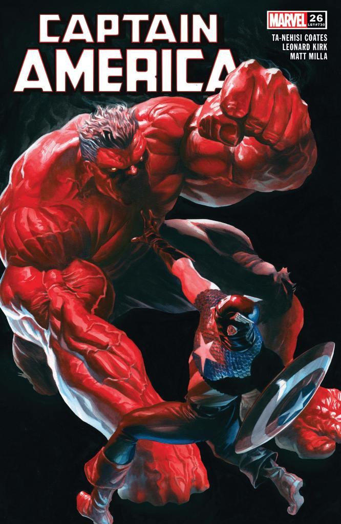 Captain America #26 Cover by Leonard Kirk