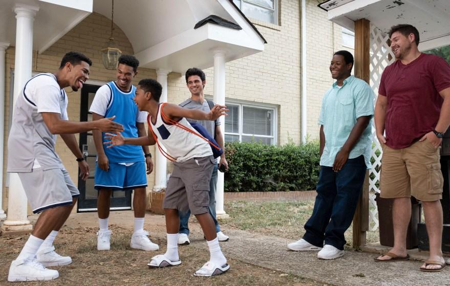 Elijah Shane Bell as Pop, Thaddeus J. Mixson as Fahmarr, Isaac Bell as Fresh, Hunter Sansone as Daniel Photo Credit: Chuck Zlotnik