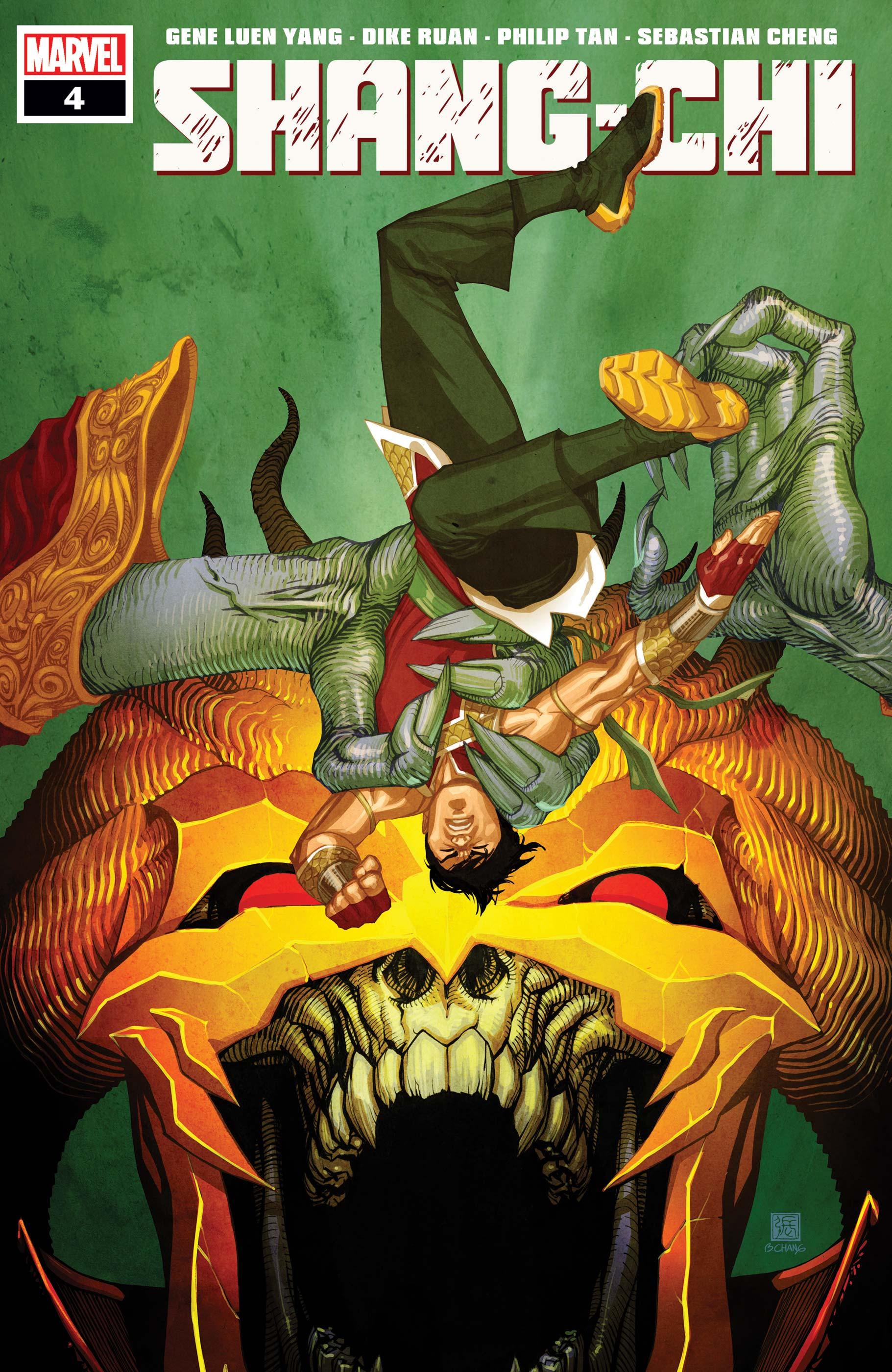 Shang-Chi #4 Cover by Bernard Chang