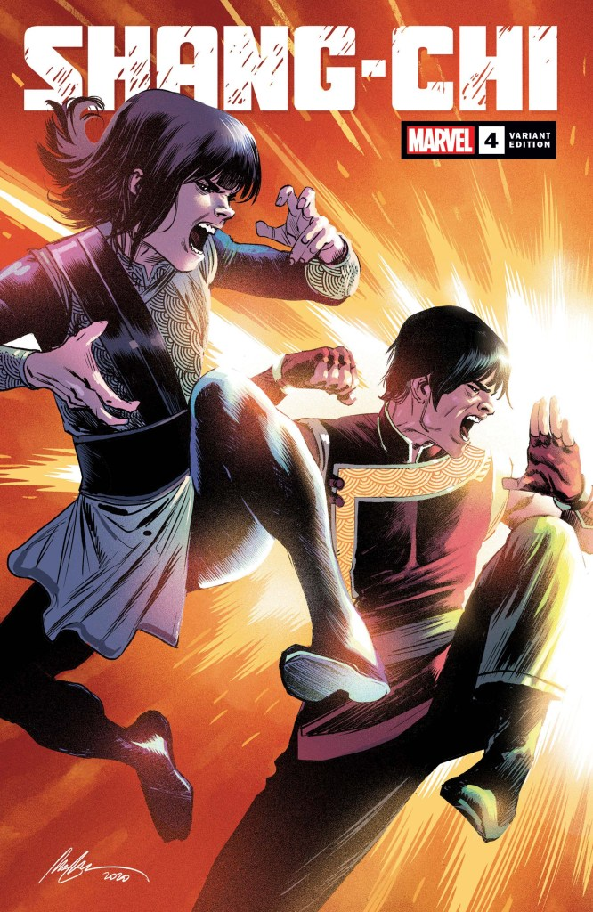 Shang-Chi #4 Variant Cover by Rafael Albuquerque