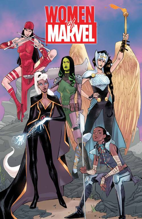 Cover for Women of Marvel #1 by Sara Pichelli