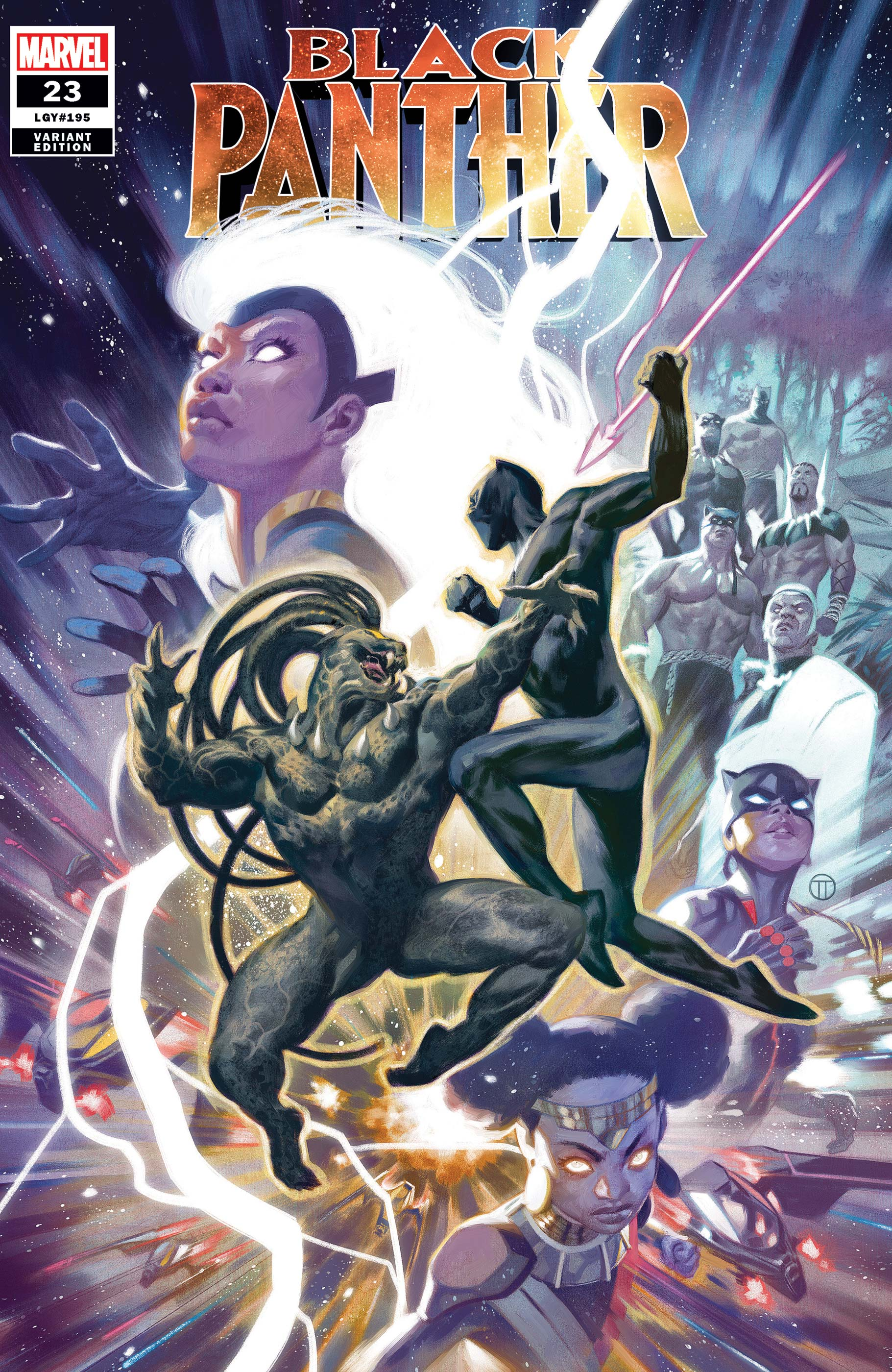 Black Panther #23 Variant Cover by Julian Tedesco