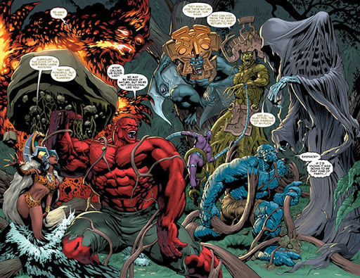 The Mayapan from Hulk Vol. 2 #54