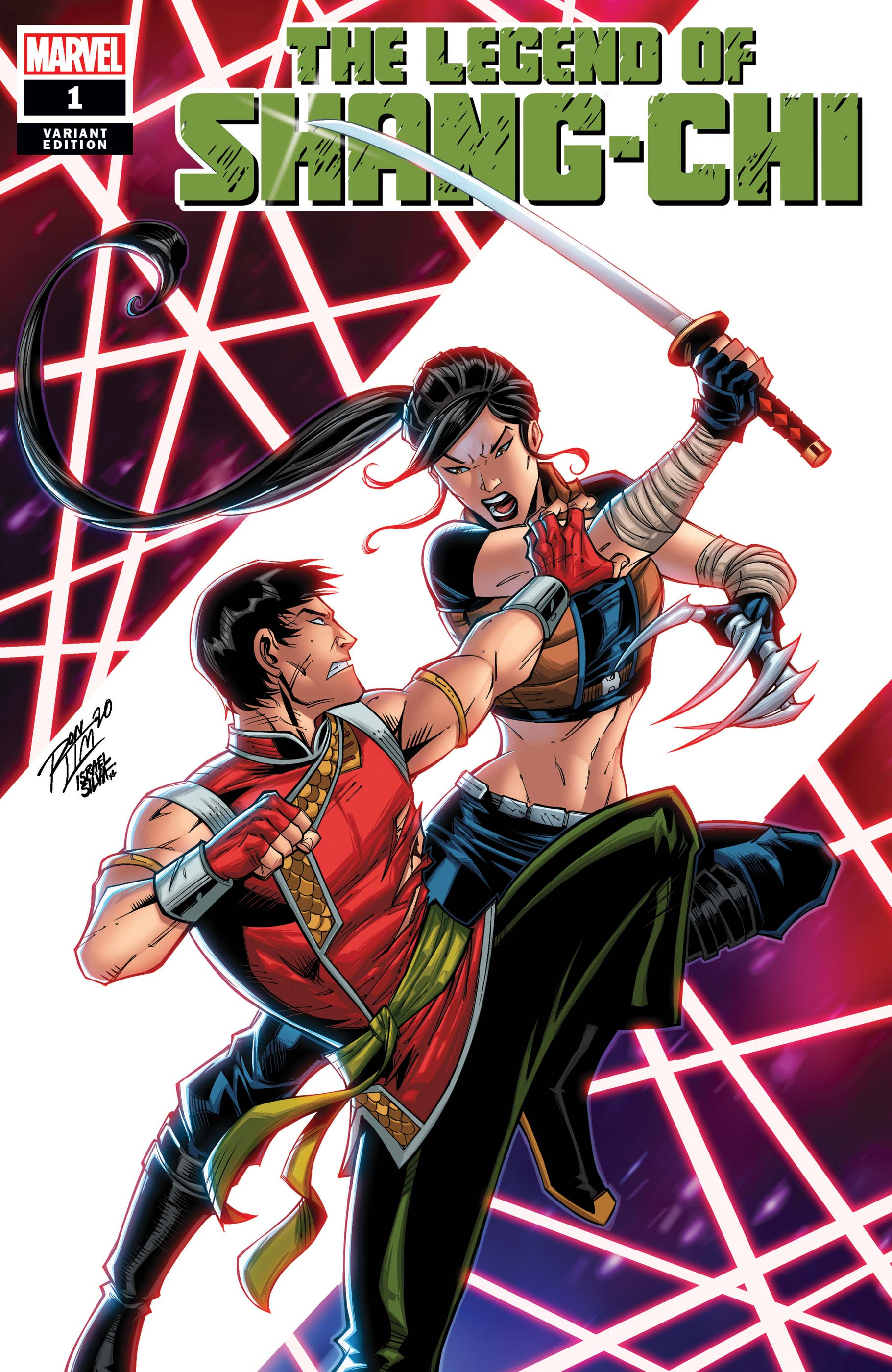 The Legend of Shang-Chi #1 Variant Cover by Ron Lim