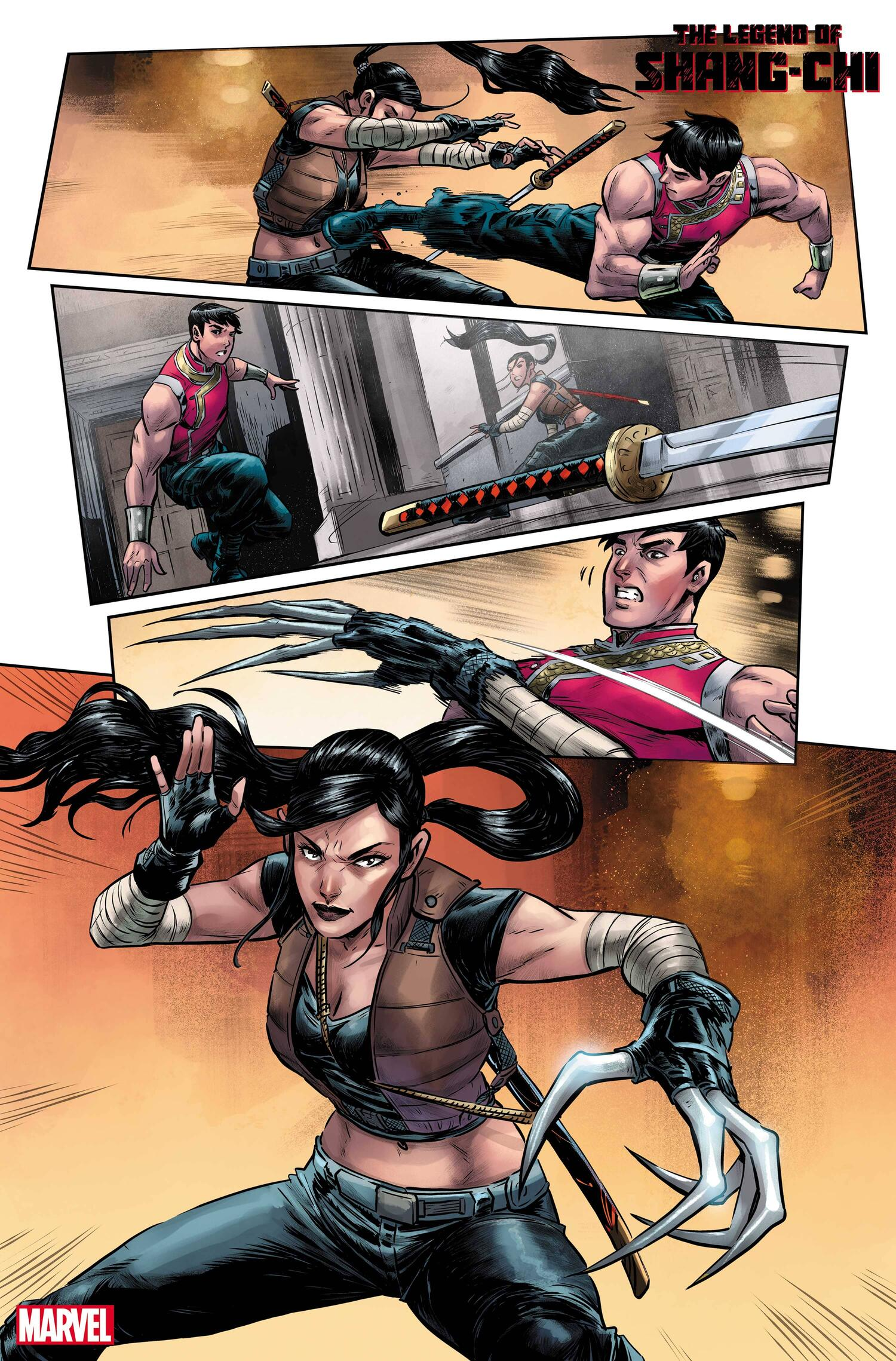 The Legend of Shang-Chi #1 Preview Page from Marvel.com