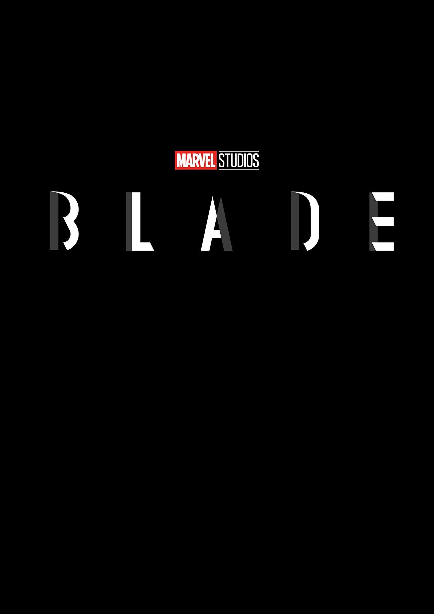 Marvel Studios Blade Logo