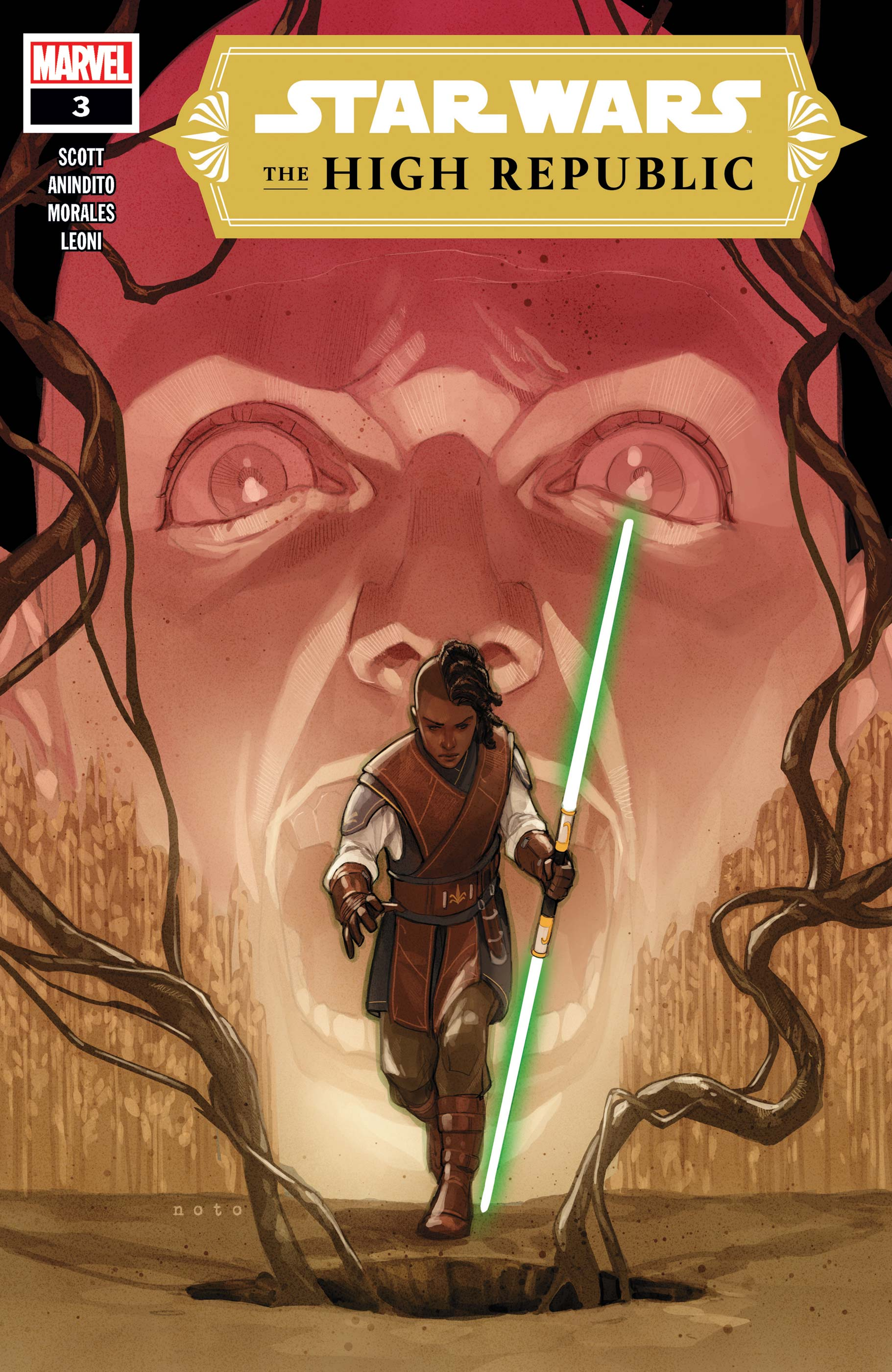 Star Wars: The High Republic #3 Cover by Phil Noto