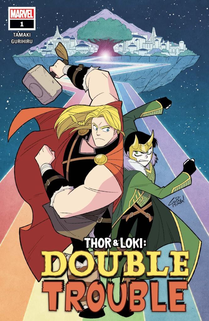Thor & Loki: Double Trouble Cover by G Gurihiru