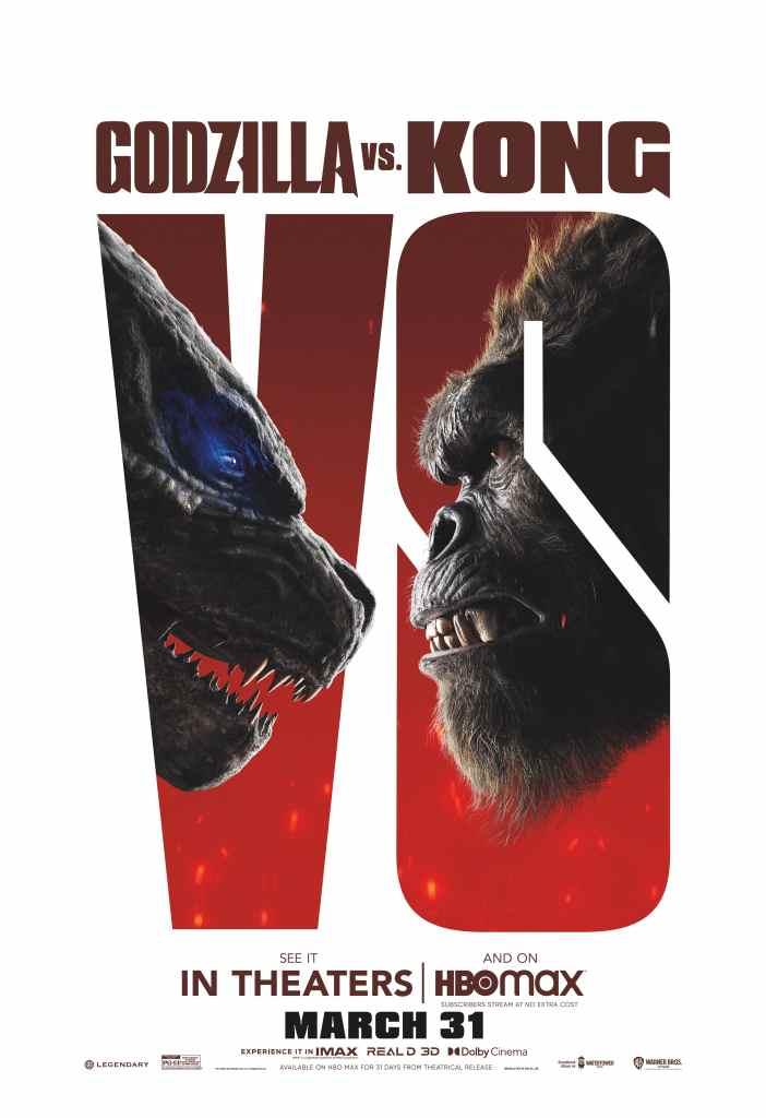 Godzilla vs. Kong theatrical poster