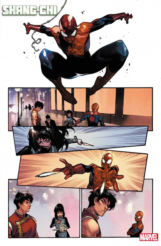 Shang-Chi Preview Page #4 Credit: Marvel