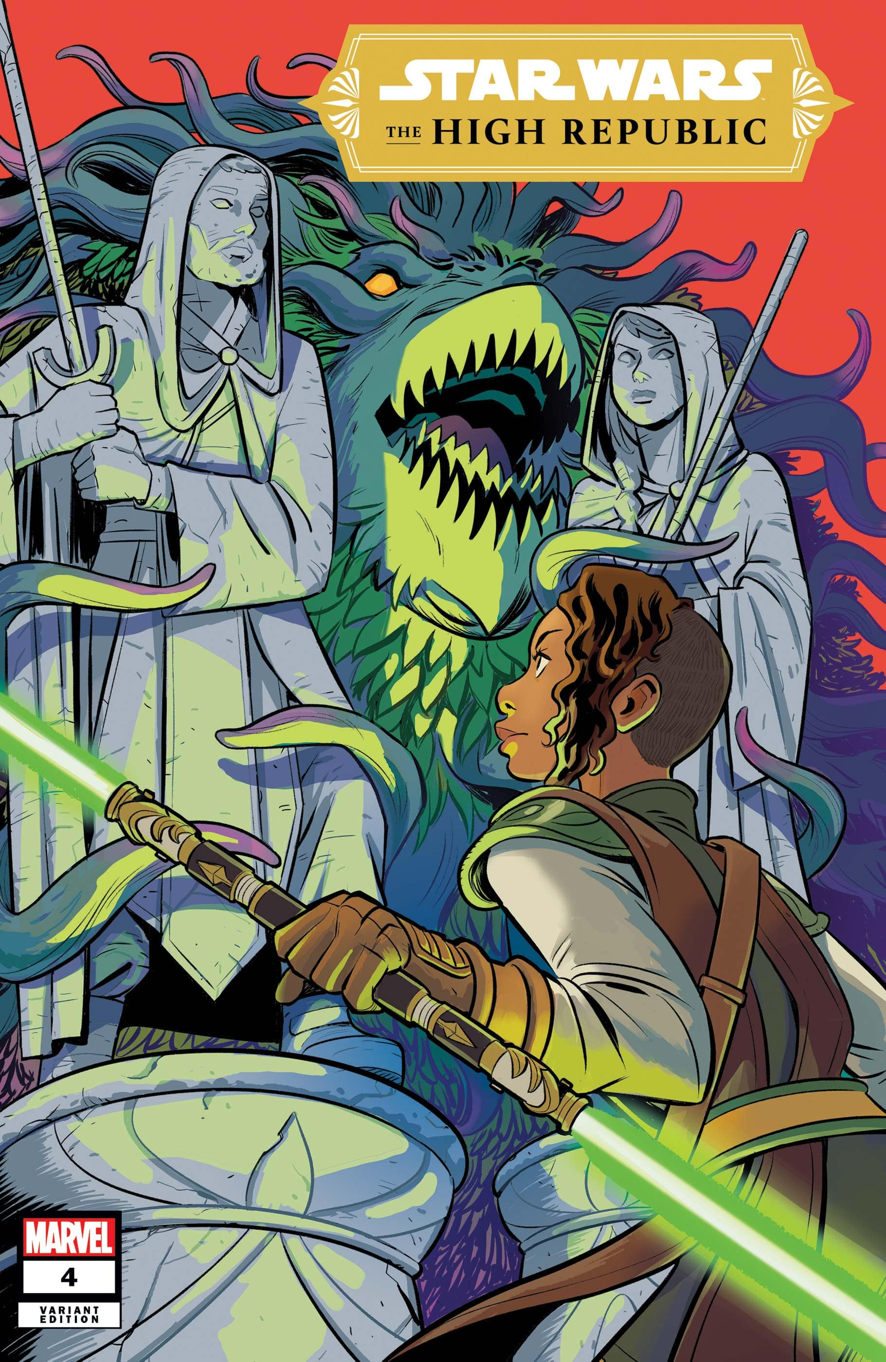 Star Wars: The High Republic #4 Variant Cover by Natacha Bustos