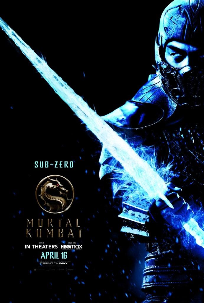 Sub-Zero (Joe Taslim) Character Poster
