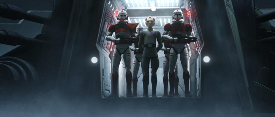 Tarkin's Presence Looms Large in Star Wars: The Bad Batch