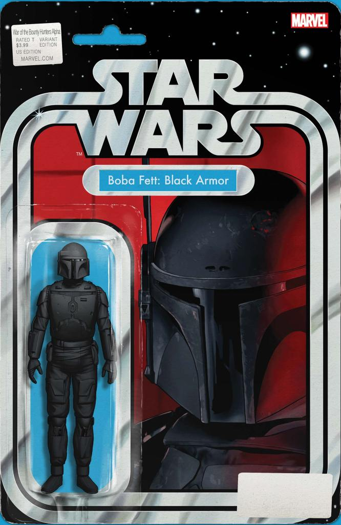 Star Wars: War of the Bounty Hunters Alpha #1 Action Figure Variant Cover