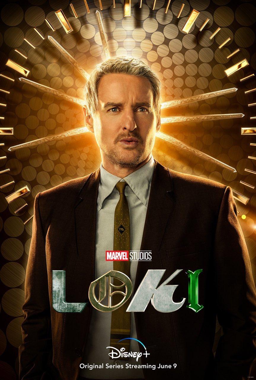 Owen Wilson as Mobius in Marvel Studios' Loki