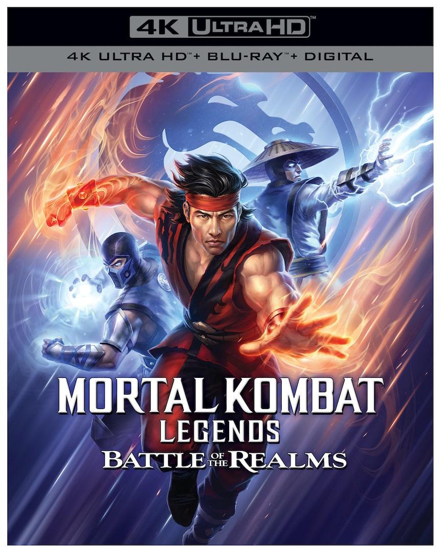 Mortal Kombat Legends: Battle of the Realms 4K Box Art