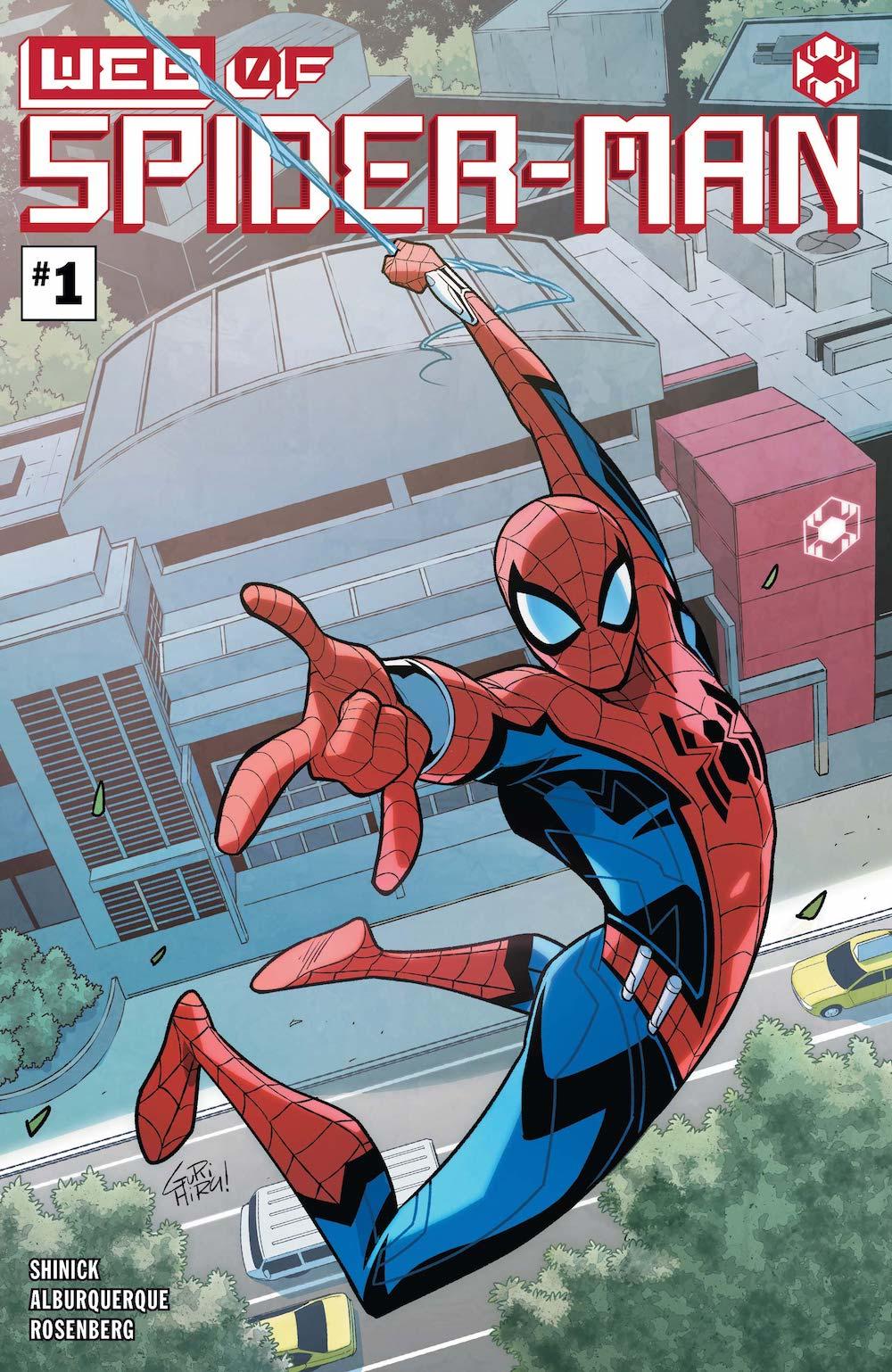 W.E.B. of Spider-Man #1 Cover by G Gurihiru