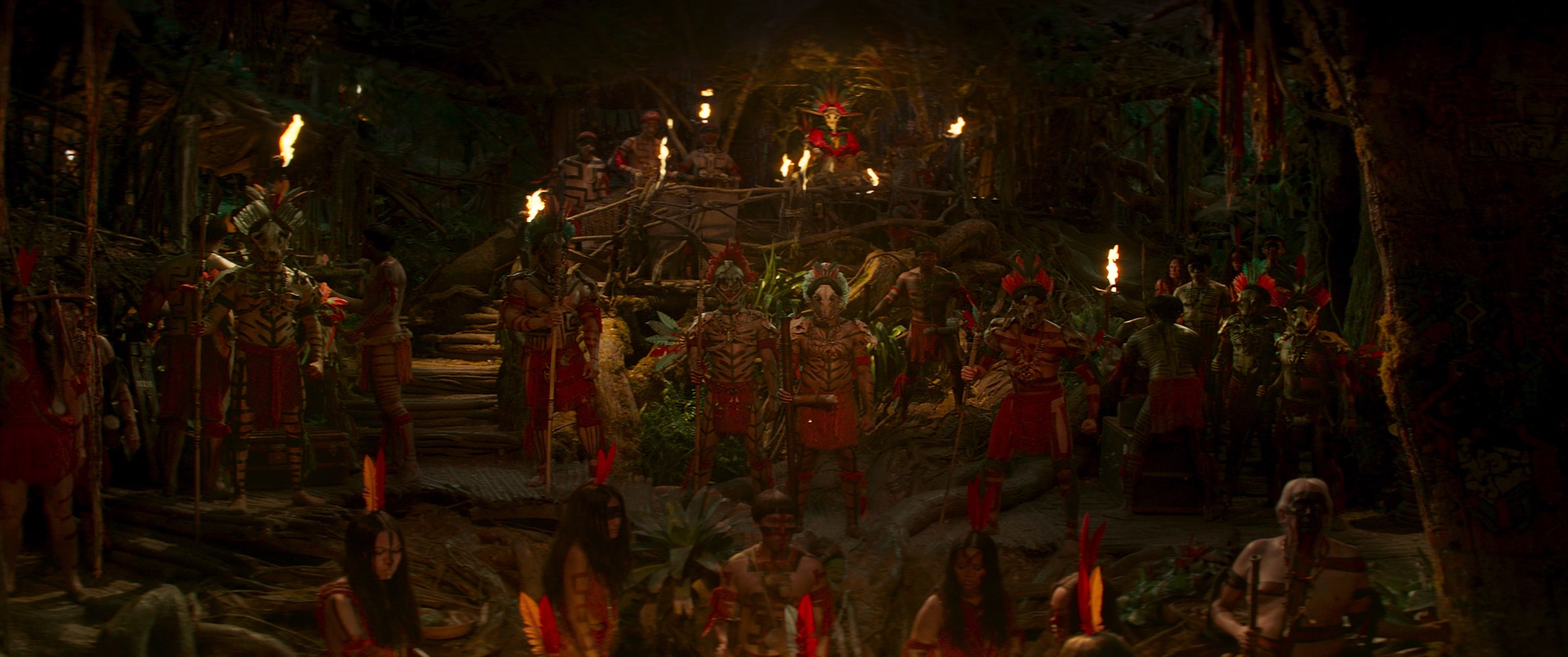 Scene from Disney's Jungle Cruise. Photo Courtesy of Disney. 2021 Disney Enterprises, Inc. All Rights Reserved.