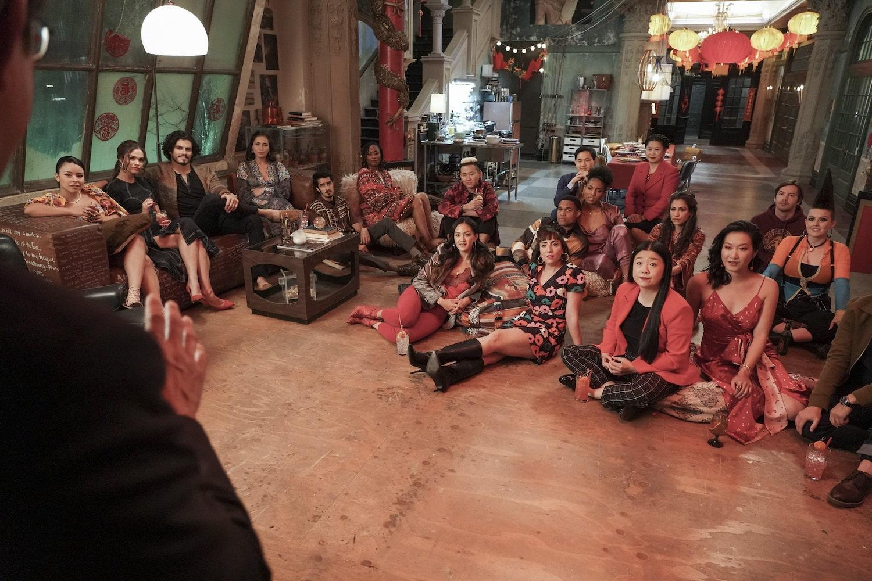 "GOOD TROUBLE – ""Lunar New Year"" – Alice hosts a Lunar New Year celebration; Callie and Gael address their communication issues. This episode of ""Good Trouble"" airs Wednesday, August 11 at 10:00 p.m. ET/PT on Freeform. (Freeform/Eric McCandless) CIERRA RAMIREZ, MAIA MITCHELL, TOMMY MARTINEZ, PRISCILLA QUINTANA, NABEEL MUSCATWALLA, ZURI ADELE, KYE TAMM, SHANNON CHAN-KENT, MARISSA RIVERA, MARCUS EMANUEL MITCHELL, CHAU LONG, LIISI LAFONTAINE, LEE CHEN, SHERRY COLA, ZAINNE SALEH, KARA WANG, ERIK STOCKLIN, ANASTASIA LEDDICK"